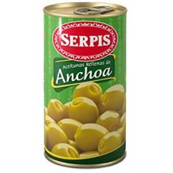 Olives Vertes Anchois Serpis